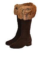 Сапоги женские MaxMara цвет коричневый размер 37 арт 45258577