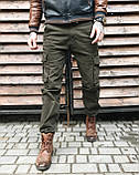 Джинсы карго карманы мужские , фото 2