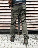 Джинсы карго карманы мужские , фото 3