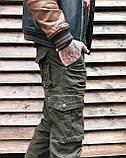 Джинсы карго карманы мужские , фото 4