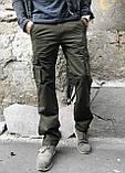 Джинсы карго карманы мужские , фото 6