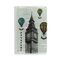 """Обложка для паспорта ZIZ """"Лондон-Париж"""" (10079)"""
