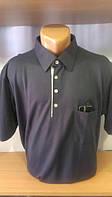 Мужская футболка-поло на пуговицах новинка этого сезона с вышивкой лого Mu-Ru
