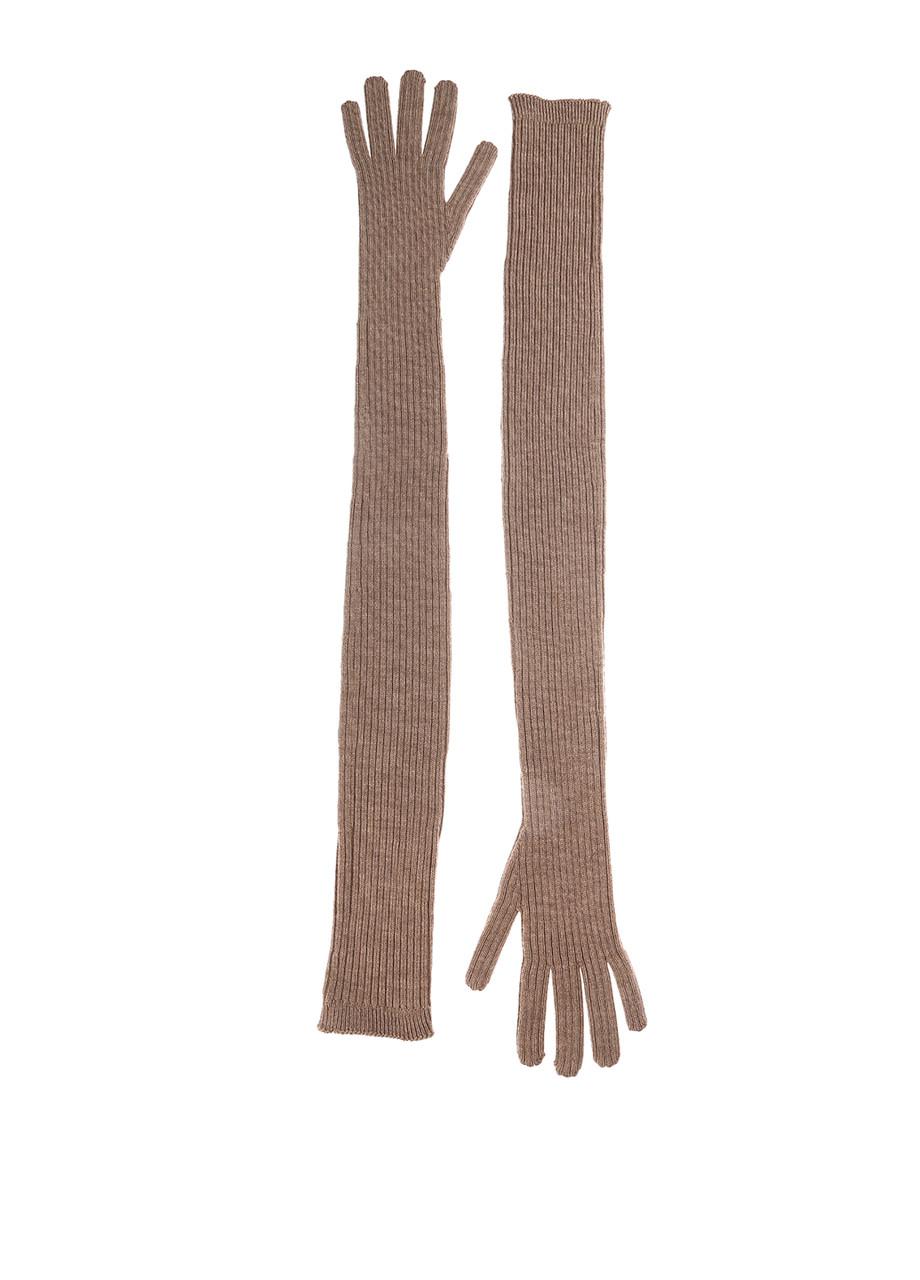 Перчатки женские DIESEL цвет капучино размер Универсальный арт 00SBEJBGFIA7CN