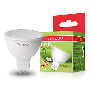 "EUROLAMP LED Лампа ЕКО серия ""D"" SMD MR16 5W GU5.3 3000K/4000K"