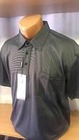 Мужская футболка-поло на кнопках новинка этого сезона с вышивкой лого Cottonart на накладном кармане