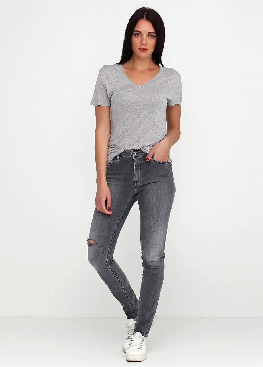 Джинси жіночі TOMMY HILFIGER колір сірий розмір 27/32 арт DW0DW03585911
