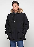Парка мужская Мужская одежда цвет черный размер XL арт 01112018, фото 1