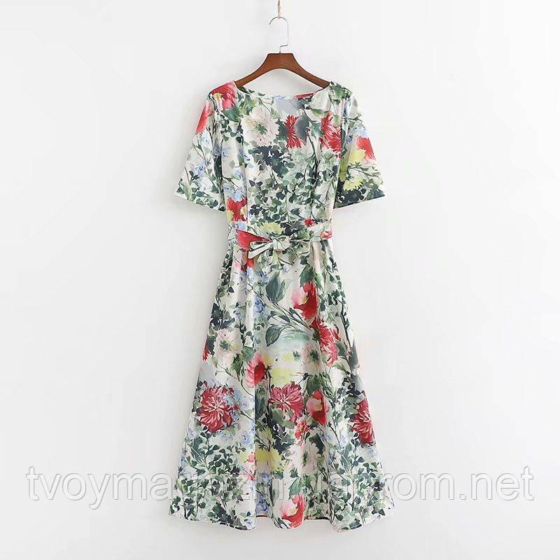 Невероятное платье в цветы 2019 Неймовірна сукня у квіти 2019