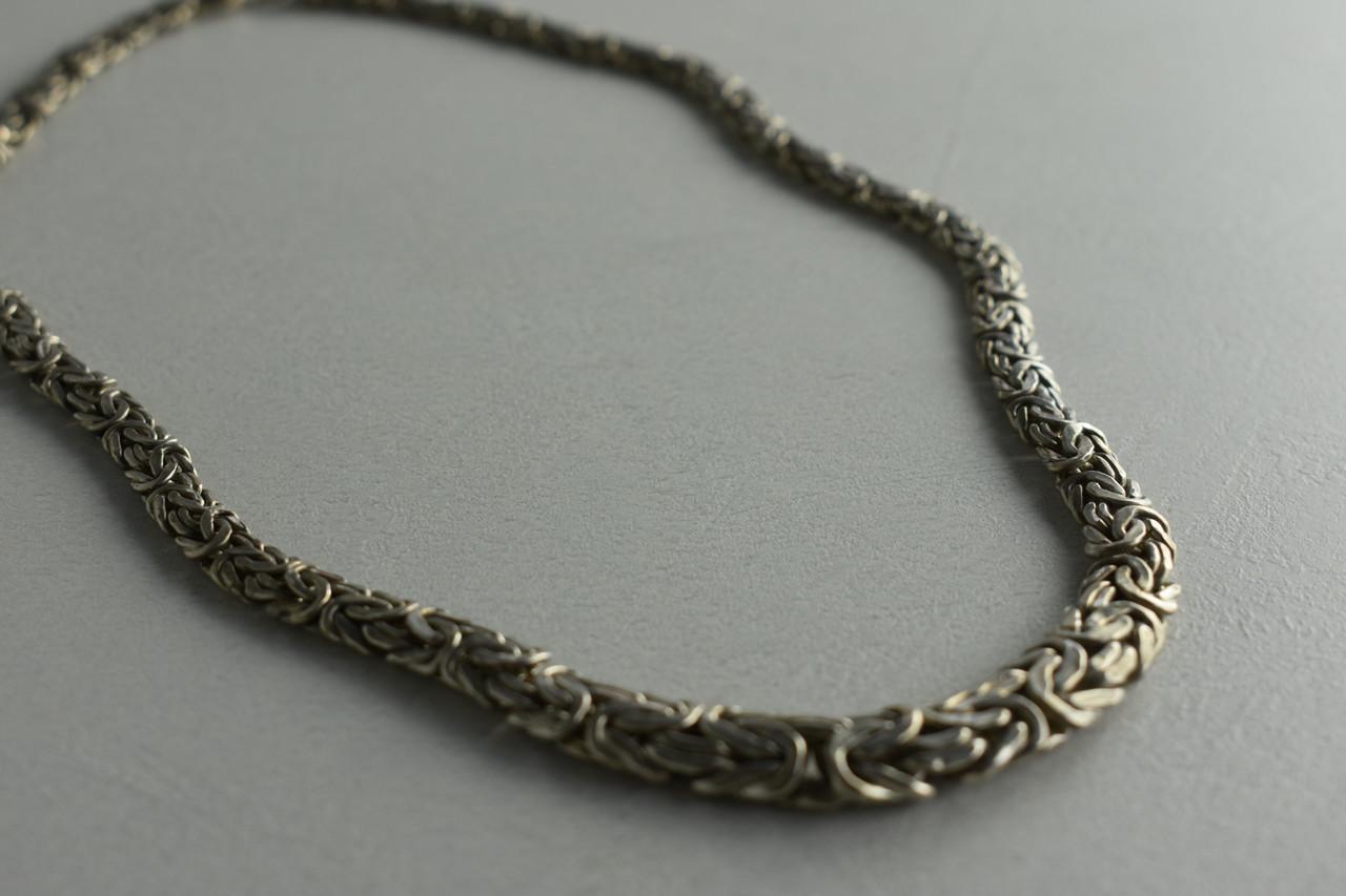 Серебряное ожерелье 925 пробы