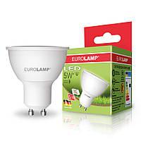 "EUROLAMP LED Лампа ЕКО серия ""D"" SMD MR16 5W GU10 3000K/4000K"
