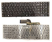 Клавиатура для ноутбука Samsung NP270, NP300E5V, NP350, NP355, NP550 RU черная новая