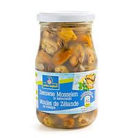 Мидии Golden Seafood Moules de Zelande в рассоле, 350 мл.