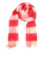 Шарф женский Maison Scotch цвет красно-белый размер OS арт 134221-16-FWLM-K70