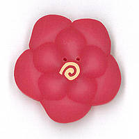 Пуговицы Just Another Button Company Large Pink Peony