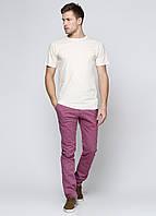Брюки мужские Massimo Dutti цвет светло-фиолетовый размер 38 арт 0008/008/647
