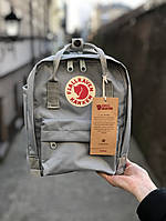 Рюкзак Fjallraven Kanken mini (gray), рюкзак Канкен мини, серый портфель канкен