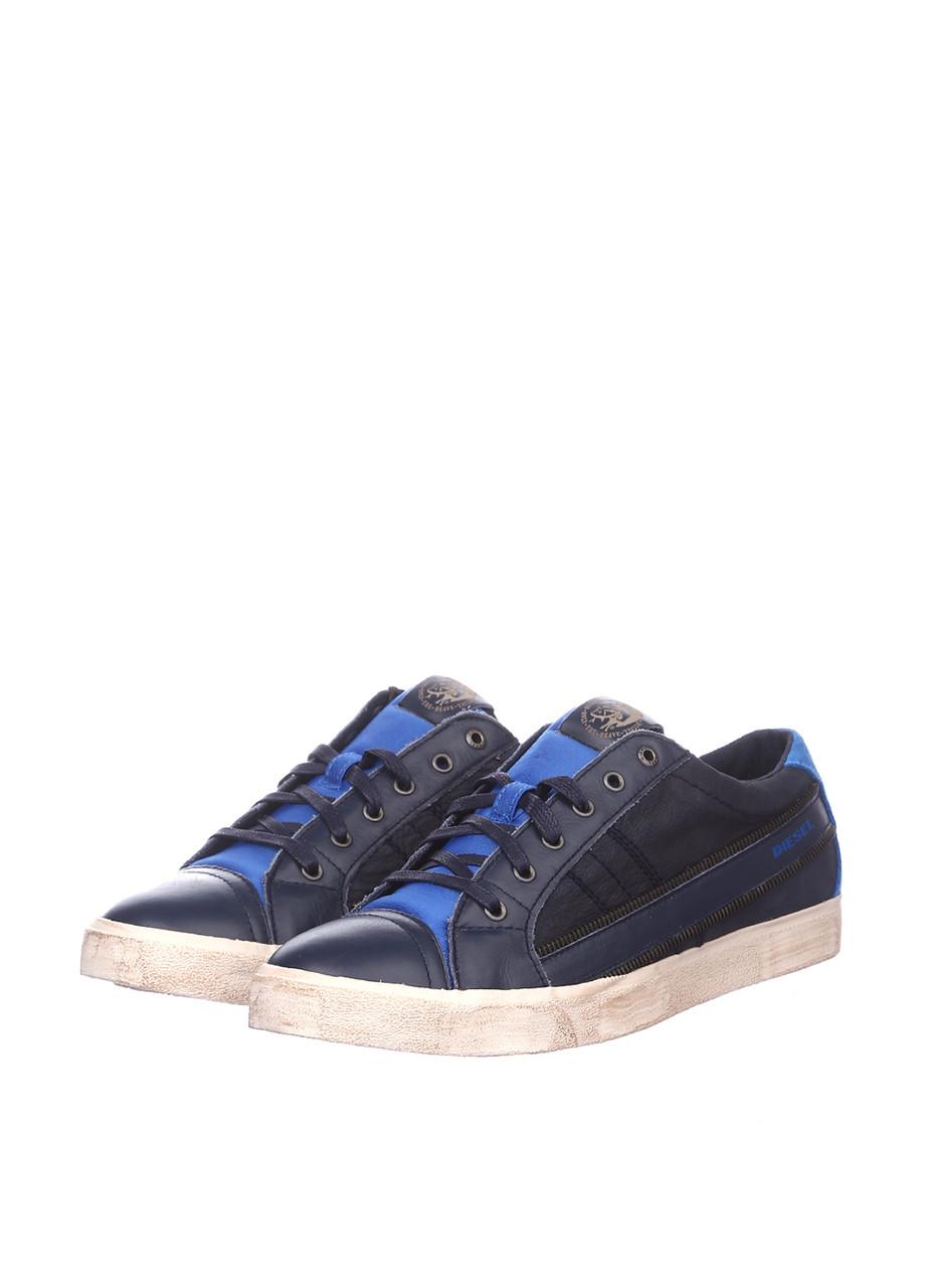 Кроссовки мужские Diesel цвет синий размер 41 43 арт Y01107P1038H6039