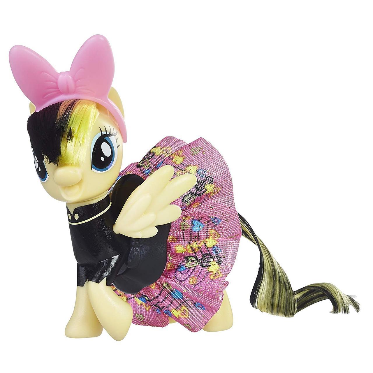 Май литл пони Серенада Трель в блестящей юбке. Оригинал Hasbro E0690/E0186
