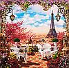 """Набор для вышивания бисером """"Весна в Париже """""""