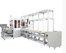 Поточная линия автоматической упаковки изделий Han's Laser