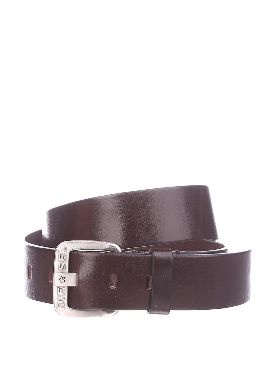 Ремень мужской DIESEL цвет темно-коричневый размер 85 90 арт 00S239-0DAIV-70L