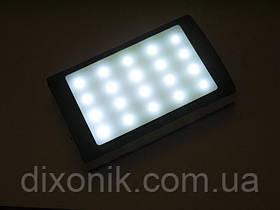 Повер банк Power Bank 15000 mAh солнечная батарея фонарь