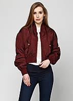 Куртка женская DIESEL цвет бордовый размер S арт 00SBVC-0BAHJ-62E