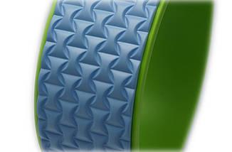 Колесо для йоги. Yoga Wheel, 33×13 см (Голубое), фото 2