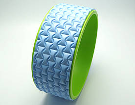 Колесо для йоги. Yoga Wheel, 33×13 см (Голубое), фото 3
