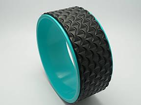 Колесо для йоги. Yoga Wheel, 33×13 см (Черное), фото 3