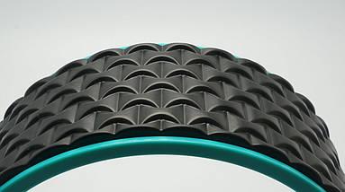 Колесо для йоги. Yoga Wheel, 33×13 см (Черное), фото 2