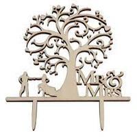 """Фамилия, топер для сладкого стола, топпер на свадьбу, украшения. """"Дерево семейное"""""""