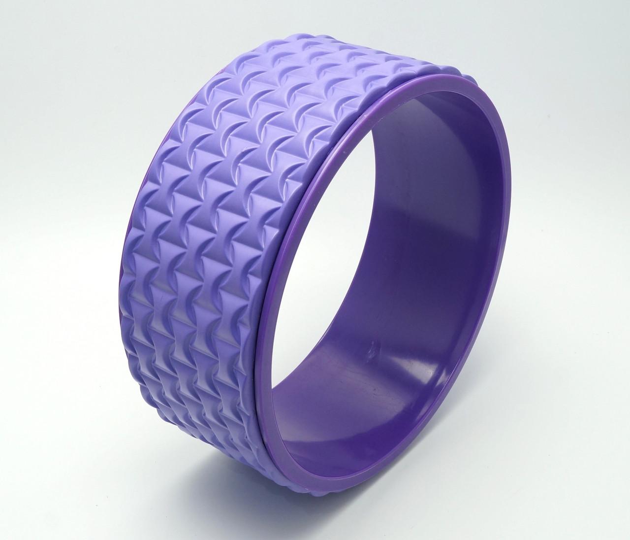 Колесо для йоги. Yoga Wheel, 33×13 см (Фиолет)