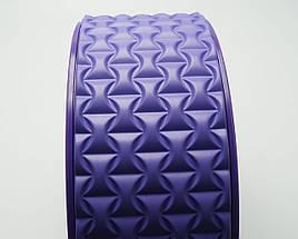 Колесо для йоги. Yoga Wheel, 33×13 см (Фиолет), фото 2