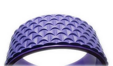 Колесо для йоги. Yoga Wheel, 33×13 см (Фиолет), фото 3