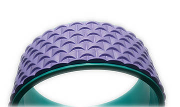 Колесо для йоги. Yoga Wheel, 33×13 см (Светло-фиолетовое), фото 3