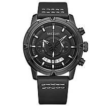 MEGIR 2047 Мужской многофункциональный хронограф светящиеся моды случайные мужчины Кварцевые часы - 1TopShop, фото 3