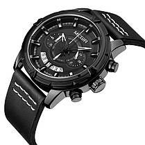 MEGIR 2047 Мужской многофункциональный хронограф светящиеся моды случайные мужчины Кварцевые часы - 1TopShop, фото 2