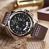 MEGIR 2047 Мужской многофункциональный хронограф светящиеся моды случайные мужчины Кварцевые часы - 1TopShop, фото 4