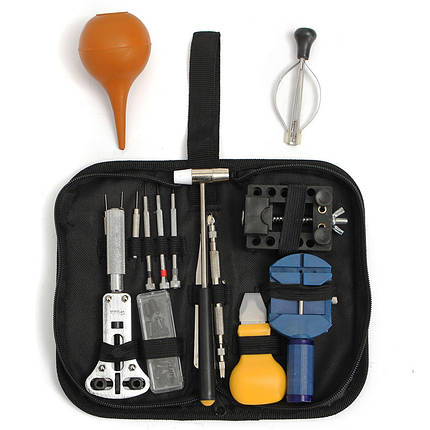 Часы ремонт набор инструментов кейс нож ссылка полосы снятия пружины панели инструментов - 1TopShop, фото 2