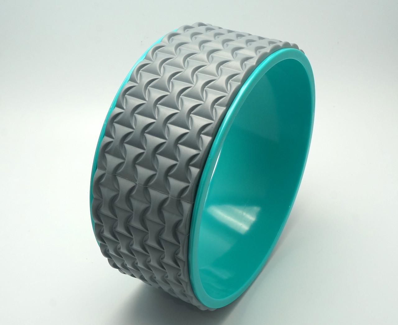 Колесо для йоги. Yoga Wheel, 33×13 см (Серое)