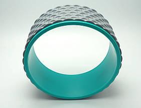 Колесо для йоги. Yoga Wheel, 33×13 см (Серое), фото 2