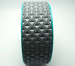 Колесо для йоги. Yoga Wheel, 33×13 см (Серое), фото 3