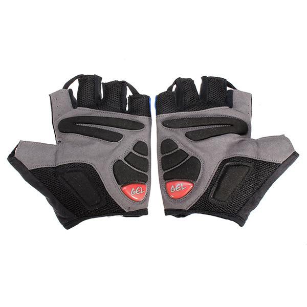 Лямбда велосипедные перчатки половина Finger перчатки велосипед горы велосипеда оборудования - 1TopShop