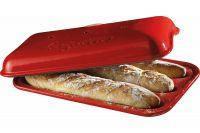 Форма для выпечки багетов  Emile Henry 345506 красная 39х24 см