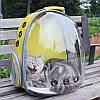 Собака Кот Прозрачная космическая капсула Breathable Shoulder Сумка Pet вне путешествий Портативный переносной рюкзак - 1TopShop, фото 4