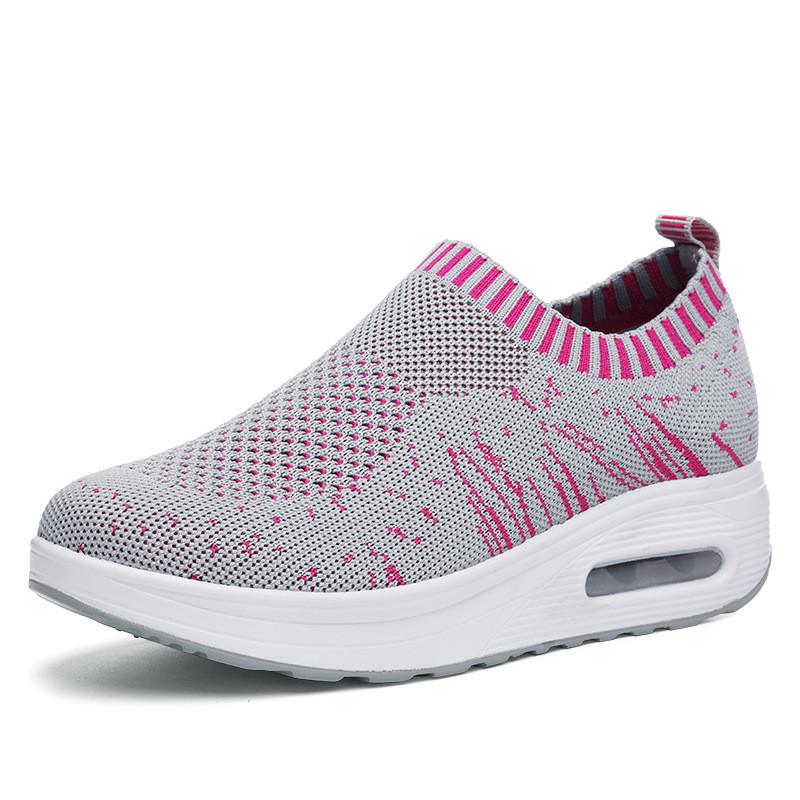 Mesh Rocker Sole Shoes Женское Breathable Light Casual Sport На открытом воздухе Обувь - 1TopShop