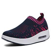 Mesh Rocker Sole Shoes Женское Breathable Light Casual Sport На открытом воздухе Обувь - 1TopShop, фото 3