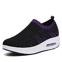 Mesh Rocker Sole Shoes Женское Breathable Light Casual Sport На открытом воздухе Обувь - 1TopShop, фото 2